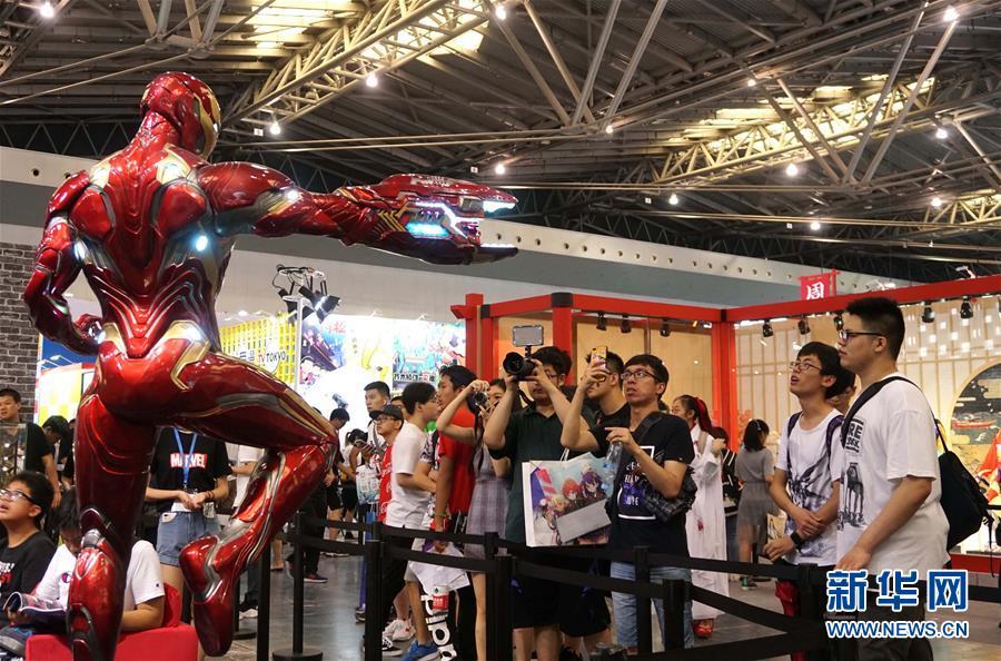 (文化)(1)第14屆中國國際動漫遊戲博覽會在滬開幕