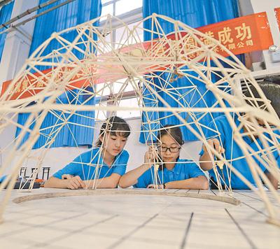 第二届河北省大学生结构设计竞赛举办(图)-万众创新