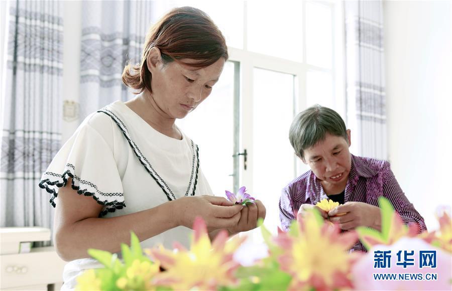 邢台:以技扶残 助残疾群众就业